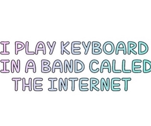 band, internet, and keyboard image
