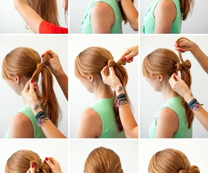 bow, girl, and tutorial image