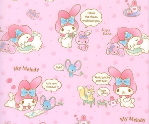 background, kawaii, and my melody image