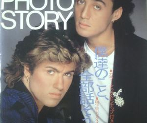wham in chinese!!!! and george+michael image