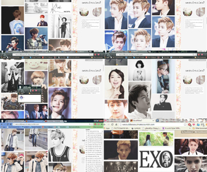 exo, music, and teen image