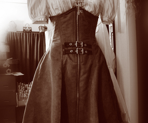 dress and steampunk gear image