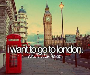 Dream, london, and traveling image