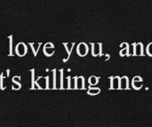 i, kill, and love image