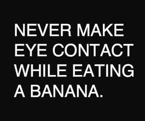 banana, funny, and quote image