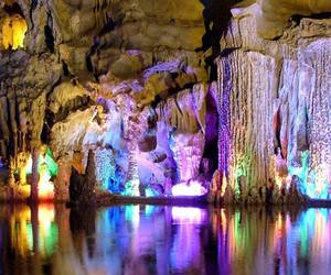cave, china, and nature image