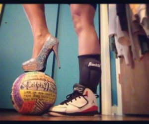 volleyball and heels image