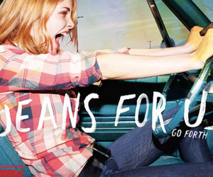jeans, go forth, and levi's image