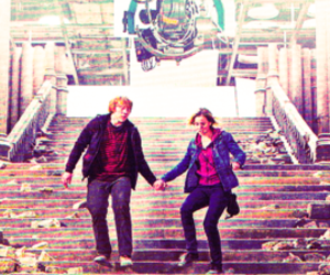 couple, harry potter, and Part II image