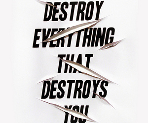 quotes, destroy, and text image