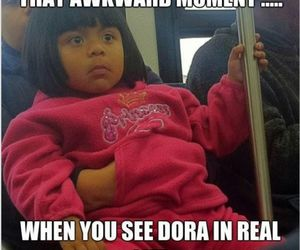 Dora, funny, and lol image