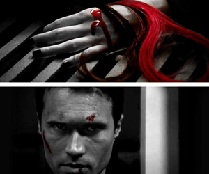 blood, grant ward, and red image