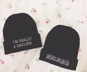 unicorn, mermaid, and fashion image