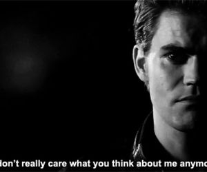 the vampire diaries, quote, and paul wesley image