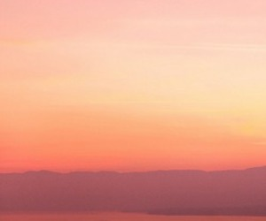 evening, morning light, and orange and pink image
