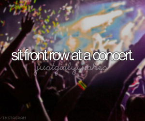 concert, bucket list, and Dream image