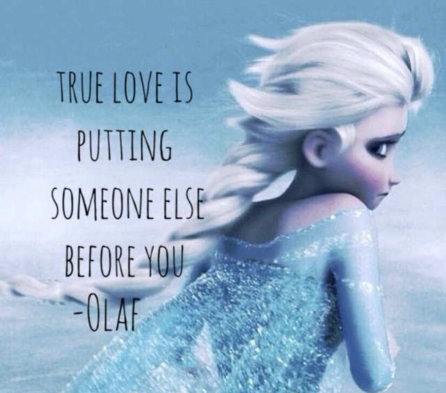 Frozen quotes discovered by Sanni on We Heart It