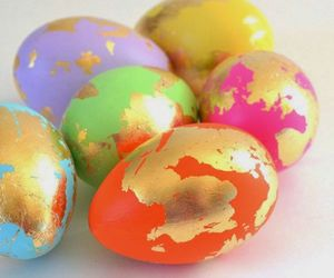 diy, easter eggs, and beauty blog image