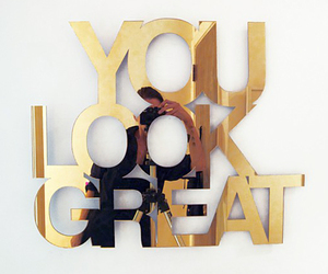 gold, great, and quotes image