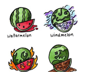 fruit, lol, and watermelon image