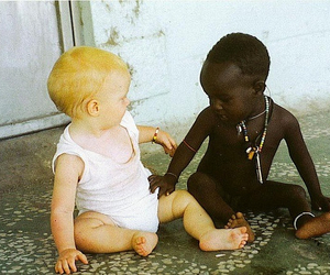 baby, child, and black image