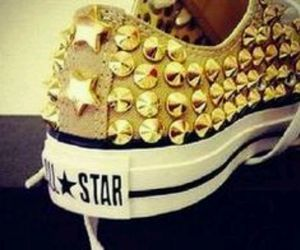 converse and gold image