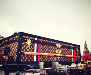Louis Vuitton, LV, and moscow image