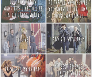harry potter, glee, and divergent image