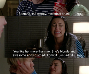 glee, drunk, and funny image