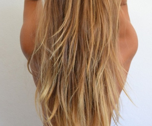 hair, layers, and pretty image