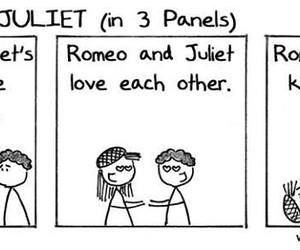 comic, shakespeare, and romeo and juliet image