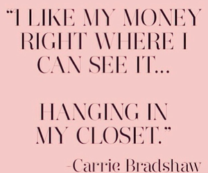 quote, money, and clothes image