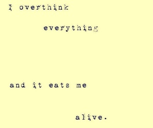 quote and overthink image
