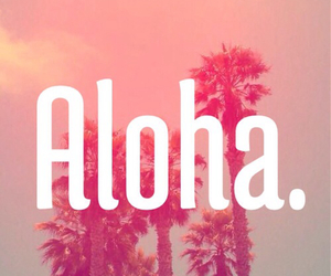 summer, Aloha, and beach image