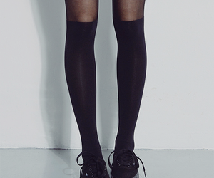 legs, black, and shoes image