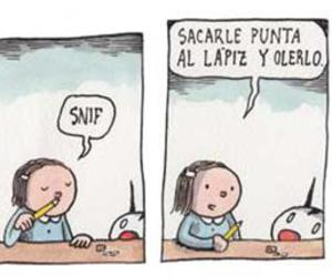 Fellini, humor, and liniers image