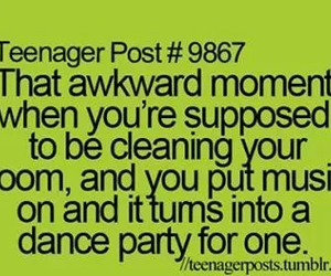 cleaning and teenagers image