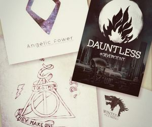 books, harry potter, and dauntless image