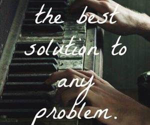 music, problem, and solution image
