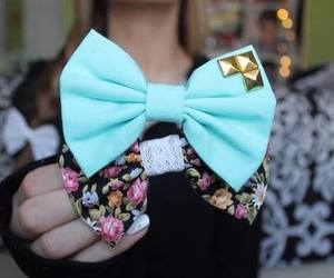 bow, tumblr, and cute image