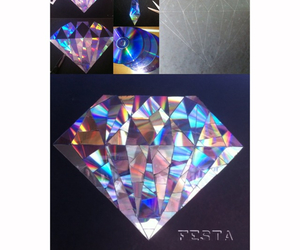 diy, diamond, and tutorial image