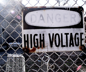 cool, danger, and high voltage image