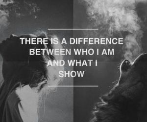 quotes, difference, and wolf image