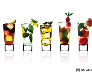 cocktail, fruit, and summer image