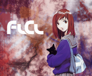 anime, black cat, and flcl image