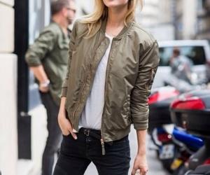 fashion blog, street style, and Toni Garrn image