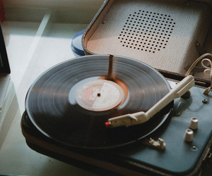 record, record player, and vinyl image