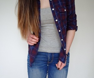 basic, ombre hair, and girl image