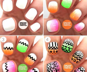 nails, colors, and green image