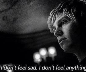 american horror story, sad, and ahs image
